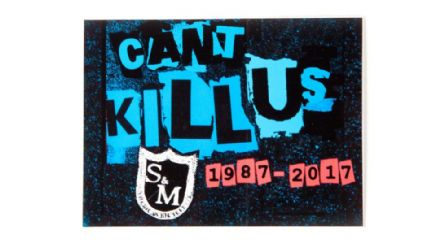 S&M Individual Can't Kill Us 30 Year Sticker